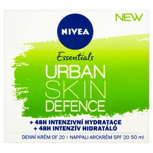 Nivea Essentials Urban Skin Defence Antioxidační denní krém OF 20 50ml