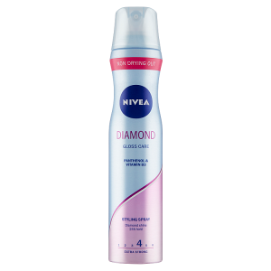 Nivea Diamond Gloss Care Lak na vlasy 250ml