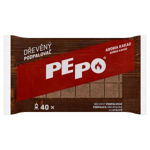 PE-PO Dřevěný podpalovač 40 ks