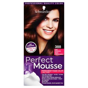 Schwarzkopf Perfect Mousse barva na vlasy Tmavě Červenohnědý 388