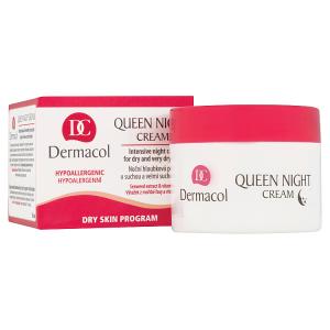 Dermacol Queen Night Noční hloubková péče o suchou a velmi suchou pleť 50ml