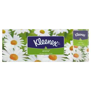 Kleenex Camomile papírové kapesníčky 3-vrstvé 10 x 10 ks