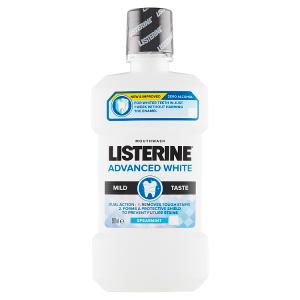 Listerine Advanced White Mild Taste ústní voda 500ml