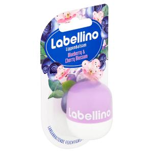 Labellino Blueberry & Cherry Blossom Pečující balzám na rty 7g