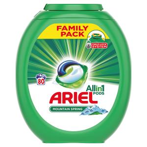 Ariel Allin1 Pods Mountain Spring Kapsle Na Praní, 80 Praní