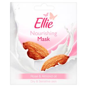 Ellie Vyživující pleťová maska Rose & Almond oil 2x8ml