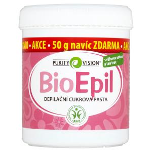 Purity Vision BioEpil depilační cukrová pasta 400g