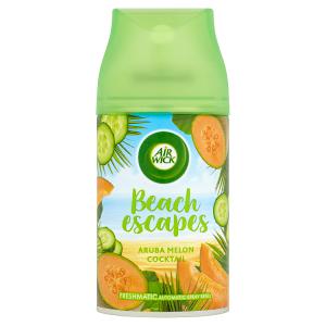 Air Wick Freshmatic Beach Escapes náplň do osvěžovače vzduchu Aruba melounový koktejl 250ml