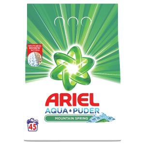Ariel AquaPuder  Mountain Spring Prací Prášek 45 Praní