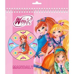 Akim Dětské mandaly - WinxClub fashion