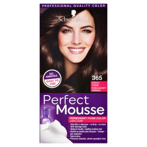Schwarzkopf Perfect Mousse barva na vlasy Čokoládový Fondán 365