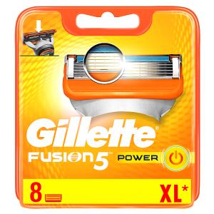 Gillette Fusion5 Power Holicí Hlavice Pro Muže 8Ks