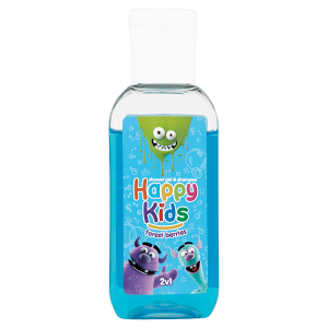 Happy Kids Sprchový gel a šampon forest berries 2v1 50ml