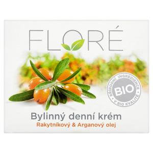Floré Bylinný denní krém rakytníkový & arganový olej 50ml