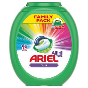 Ariel Allin1 Pods Color Kapsle Na Praní, 80 Praní