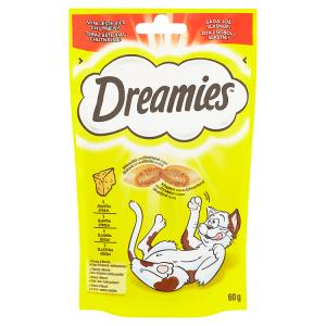 Dreamies S jemným sýrem 60g