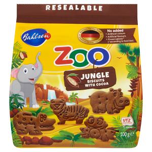 Bahlsen ZOO Jungle kakaové sušenky 100g