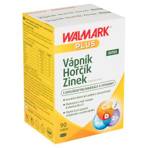 Walmark Plus Osteo vápník hořčík zinek doplněk stravy 90 tablet 148,5g