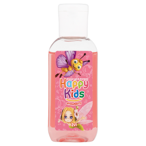 Happy Kids Sprchový gel a šampon strawberry 2v1 50ml