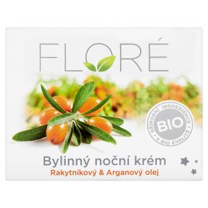 Floré Bylinný noční krém rakytníkový & arganový olej 50ml