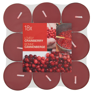 Aromatic lovely cranberry 18 ks