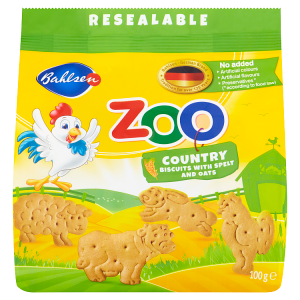 Bahlsen Zoo Country sušenky 100g