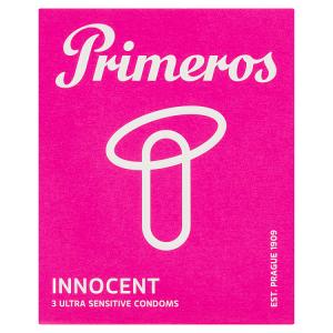 Primeros Innocent ultra tenké kondomy, 3 ks