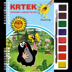 Akim Omalovánky s vod. barvami  -  Krtek 3