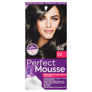 Schwarzkopf Perfect Mousse barva na vlasy Černý 200