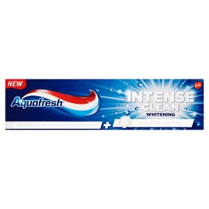 Aquafresh Intense Clean Whitening zubní pasta s fluoridem 75ml
