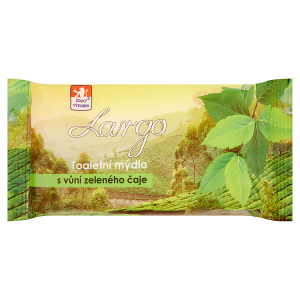 Largo Toaletní mýdlo s vůní zeleného čaje 100g