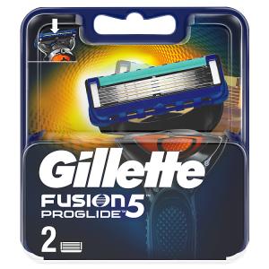Gillette Fusion5 ProGlide Holicí Hlavice Pro Muže 2Ks