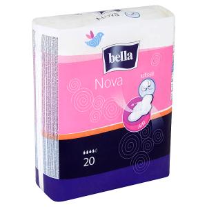 Bella Nova Hygienické vložky s křidélky á 20 ks