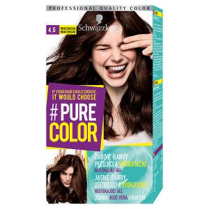 Schwarzkopf Pure Color barva na vlasy Tmavá Čokoláda 4.6