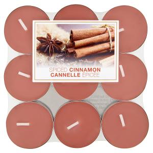 Svíčky spiced cinnamon 18 ks