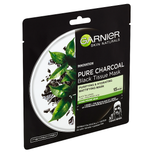 Garnier Skin Naturals Očišťující a hydratační maska pro zmatnění mastící se pleti 28g