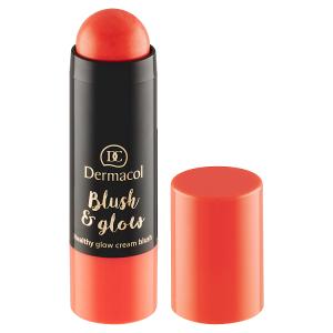 Dermacol Blush & Glow krémová rozjasňující tvářenka 02 6,5g