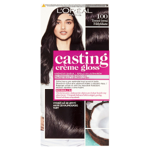 L'Oréal Paris Casting Crème Gloss Temně černá 100