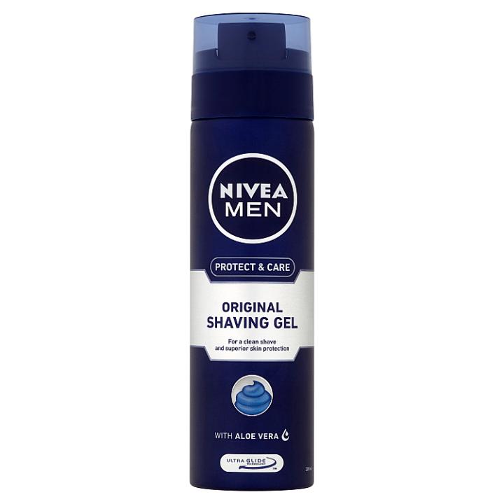 Nivea Men Protect & Care Gel na holení 200ml
