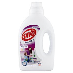 Savo Bez chlóru Color prací gel na barevné prádlo 20 praní