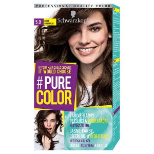 Schwarzkopf Pure Color barva na vlasy Hnědá 5.0
