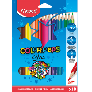 Maped Color' Peps pastelky 18 barev