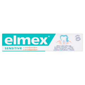 elmex Sensitive Zubní pasta s aminfluoridem 75ml