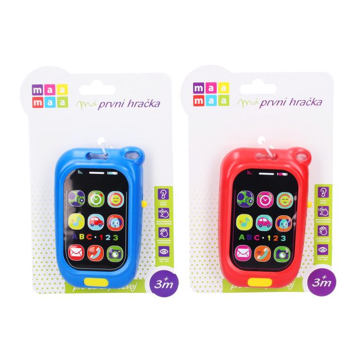 Dětský telefon s efekty 11,5 cm