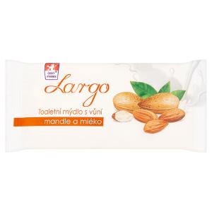 Largo Toaletní mýdlo s vůní mandle a mléko 100g