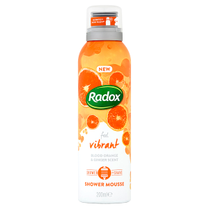 Radox sprchová pěna Feel Vibrant 200ml