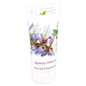 Floré Bylinný intimní gel tea tree & šalvěj lékařská 150ml