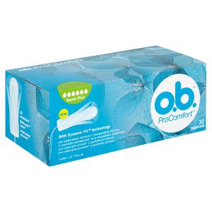 O.B. ProComfort Super Plus tampony 32 ks