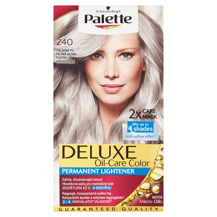 Schwarzkopf Palette Deluxe barva na vlasy Chladná Popelavá Blond 240