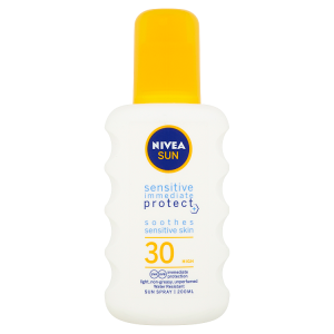 Nivea Sun Sensitive Sprej na opalování OF 30 200ml